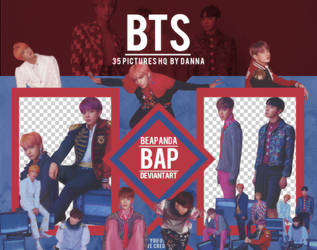 Pack Png 1263 // BTS (LY - Answer) (S version) by BEAPANDA