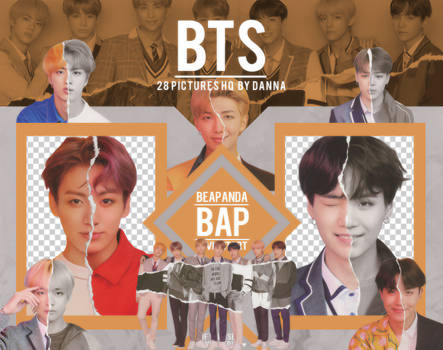 Pack Png 1265 // BTS (LY - Answer) (L version)