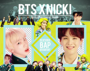 Pack Png 1268 // BTS x Nicki Minaj (IDOL)