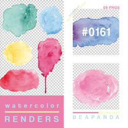 Renders 161 // Watercolor Splash Pngs by BEAPANDA