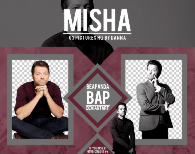 Pack Png 1293 // Misha Collins