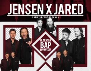 Pack Png 1295 // Jared Padalecki x Jensen Ackles