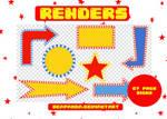 Renders 172 // Signs Pngs