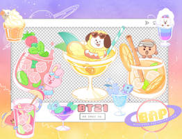 Pack Png 1381 // BT21