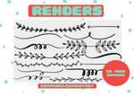 RENDERS   Dividers Pngs