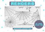 Renders 187 // Spider Web Pngs