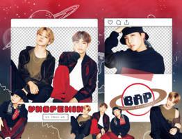Pack Png 1383 // J-Hope x Jimin x V (BTS) by BEAPANDA