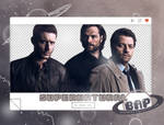 Pack Png 1444 // Supernatural Cast