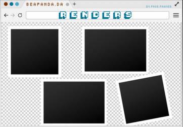 Renders 204 // Polaroids Pngs by BEAPANDA