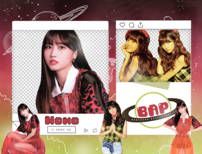 Pack Png 1472 // Momo (Yes or Yes) (TWICE) by BEAPANDA on