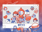 Pack Png 1498 // BT21 (Christmas)