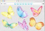 Renders 228 // Butterfly Pngs