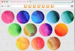 Renders 230 // Watercolor Circles Pngs