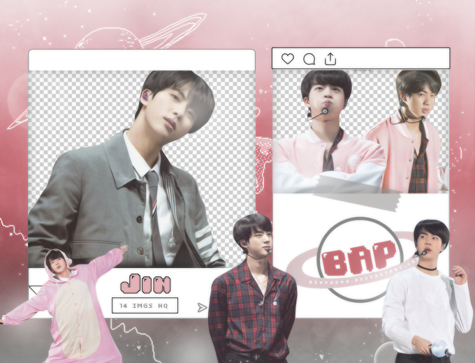 Pack Png 1581 // Jin (BTS) (4th Muster) by BEAPANDA on DeviantArt
