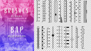 Brushes 037 // Rulers by BEAPANDA
