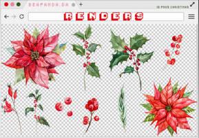 Renders 223 // Christmas Pngs by BEAPANDA