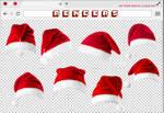Renders 222 // Santa Claus Hat Pngs