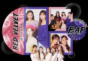 Pack Png 1605 // Red Velvet by BEAPANDA