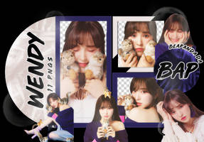 Pack Png 1601 // Wendy (Red Velvet) by BEAPANDA