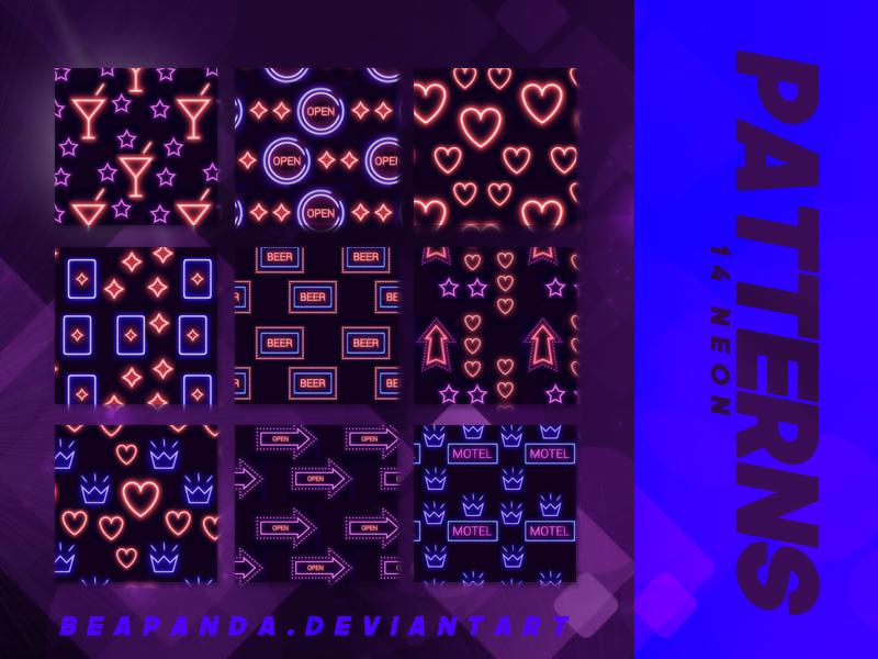 Patterns 013 // Neon