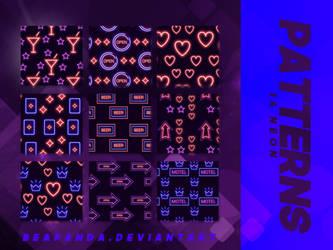 Patterns 013 // Neon by BEAPANDA