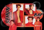 Pack Png 1627 // Sehun (EXO) (Love Shot)