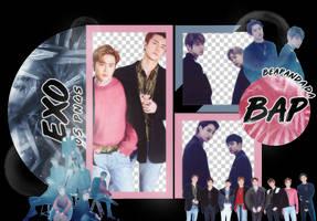 Pack Png 1676 // EXO (Love Shot) by BEAPANDA