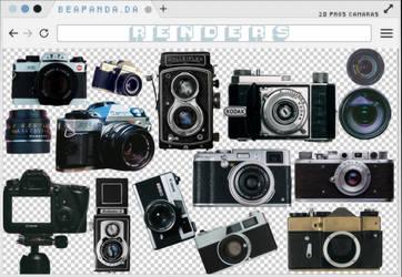 Renders 236 // Camaras Pngs by BEAPANDA