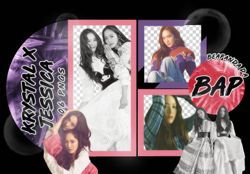 Pack Png 1727 // Krystal x Jessica Jung