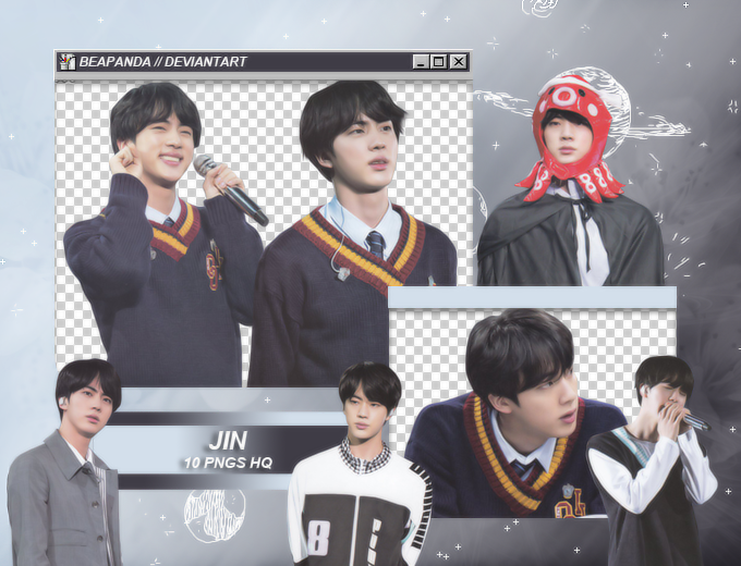 Pack Png 1907 // Jin (BTS) (4th Muster Japan) by BEAPANDA on DeviantArt