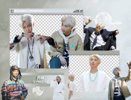 Pack Png 1878 // RM (BTS) (Map Of The Soul)