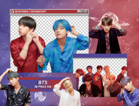 Pack Png 1881 // BTS (MAP OF THE SOUL - PERSONA) by BEAPANDA