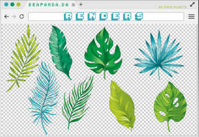 Renders 262 // Plants Pngs by BEAPANDA