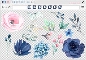 Renders 263 // Floral Pngs by BEAPANDA