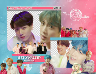 Pack Png 1931 // BTS (Boy With Luv) feat. Halsey by BEAPANDA