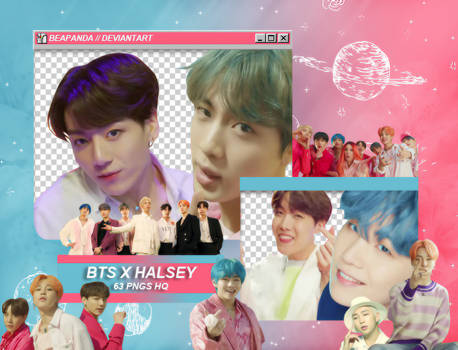 Pack Png 1931 // BTS (Boy With Luv) feat. Halsey