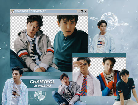Pack Png 1976 // Chanyeol (EXO) by BEAPANDA