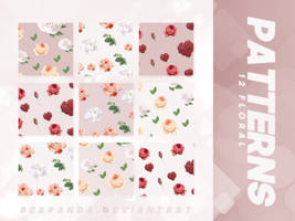 Patterns 018 // Floral by BEAPANDA