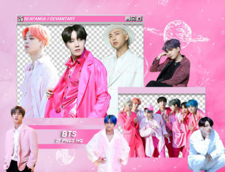 Pack Png 1985 // BTS (Boy With Luv) by BEAPANDA