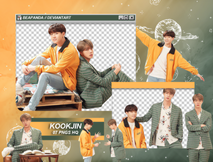 Pack Png 2059 // KOOKJIN (BTS) (FESTA 2019) by BEAPANDA on