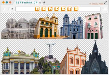 Renders 293 // Brazil Pngs by BEAPANDA
