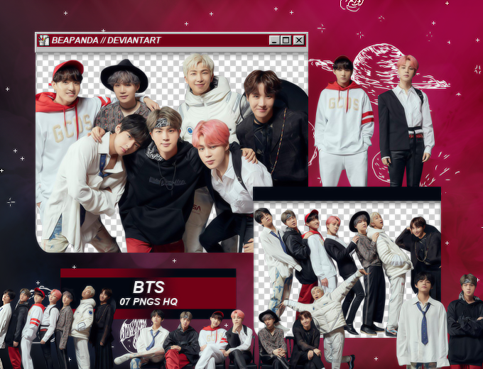 Pack Png 2083 // BTS (FESTA 2019) by BEAPANDA on DeviantArt