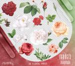Renders 302 // Floral Pngs