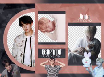 Pack Png 2202 // Jimin (BTS) (Exhibition Book) by BEAPANDA