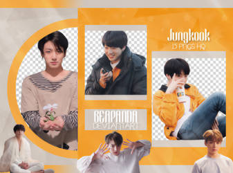 Pack Png 2203 // Jungkook (BTS) (Exhibition Book) by BEAPANDA