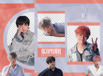 Pack Png 2207 // V (BTS) (Exhibition Book) by BEAPANDA