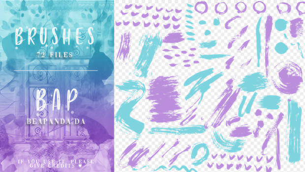 Brushes 067 // Abstract Elements