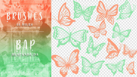 Brushes 074 // Butterfly