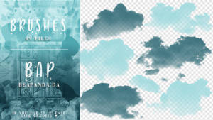 Brushes 090 // Clouds