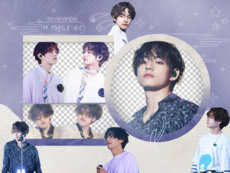Pack Png 2508 // V (BTS) (5th Muster Seoul)